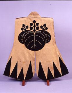 太閤桐紋白羅紗陣羽織