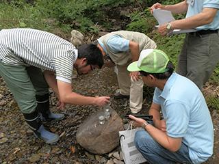 平成27年度 荒川ネットワーク 水質調査に参加
