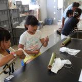 かわはく体験教室「竹の水鉄砲つくり」