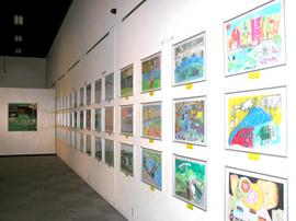 <p>荒川図画コンクール展</p>