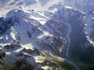 <p>写真:カナディアンロッキーの氷河</p>