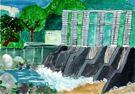 <p>平成23年度「埼玉県立川の博物館長賞」<br />島崎 唯人さんの作品</p>